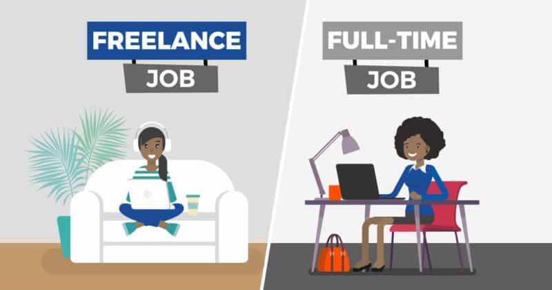 Arbejde hjemmefra som freelance