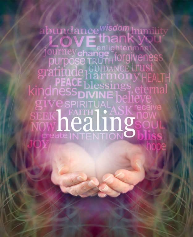 healing med ord
