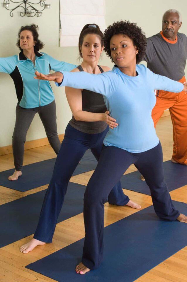yoga i stedet for stress